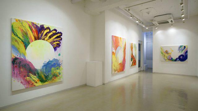 2009年 個展風景 2
